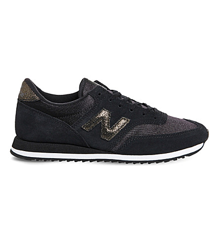 NEW BALANCE 620 suede and mesh trainers