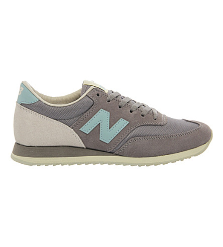 NEW BALANCE 620 suede trainers (Grey sky blue excl