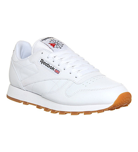 REEBOK Reebok CL leather sneakers (White+gum