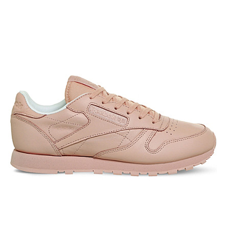 REEBOK x Spirit Classic Leather low-top trainers (Patina+pink