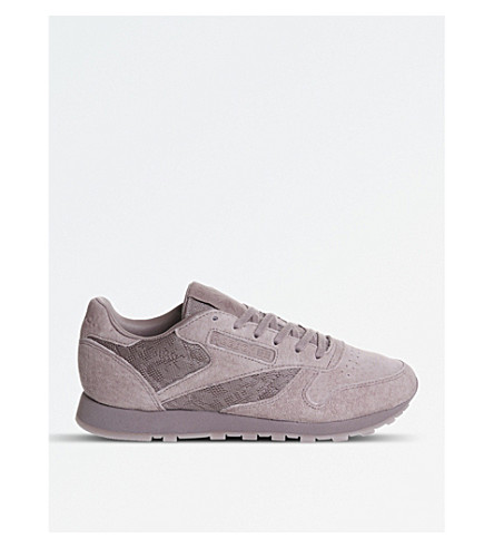REEBOK Classic trainers (Smokey+orchid+lace
