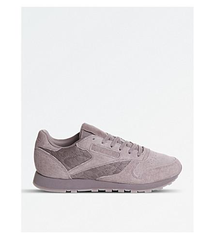 REEBOK 经典运动鞋 (烟熏 + 兰花 + 花边
