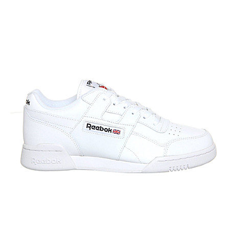 REEBOK Workout plus trainers (White+black