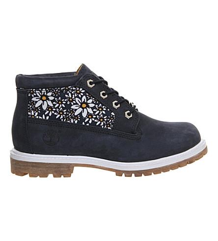 TIMBERLAND Nellie waterproof chukka boots (Black iris daisy pri