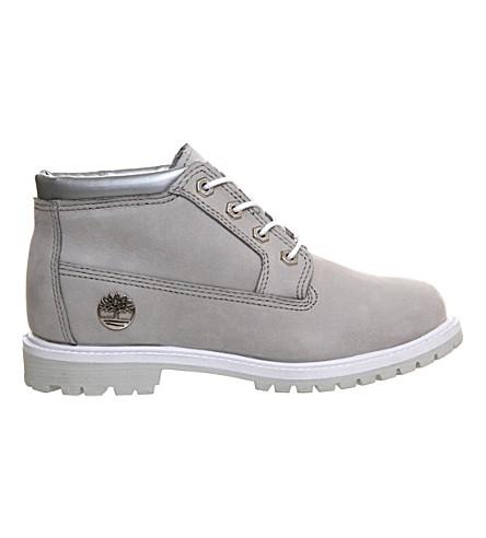 TIMBERLAND Nellie waterproof chukka boots (Grey iridescent cuff
