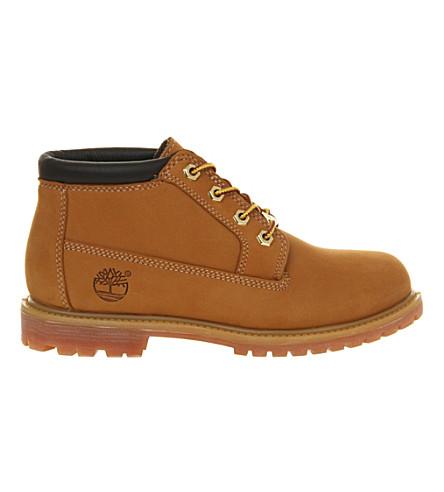 TIMBERLAND Nellie waterproof chukka boots (Wheat+nubuck
