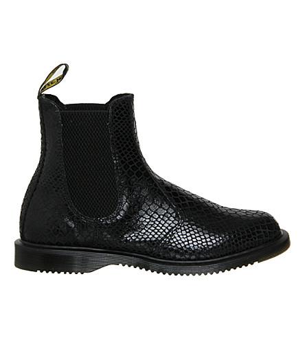 dr martens kensington flora leather chelsea boots. Black Bedroom Furniture Sets. Home Design Ideas
