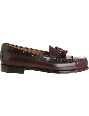 G.H BASS Layton tasselled-kiltie leather loafers