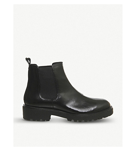 VAGABOND Kenvova leather chelsea boots (Black box leather
