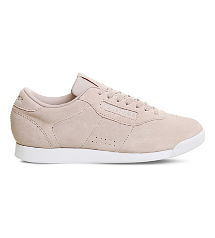 REEBOK Princess suede trainers (Shell+pink+grey