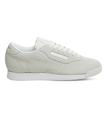 REEBOK Princess suede trainers (Chalk+seaside