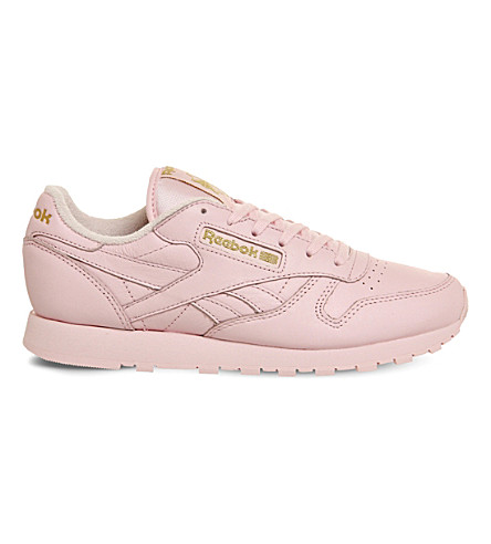REEBOK Classic leather trainers (Pink mono