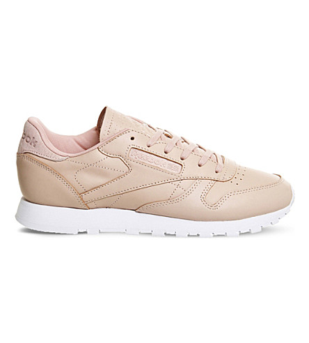 REEBOK Classic leather trainers (Rose+cloud+white
