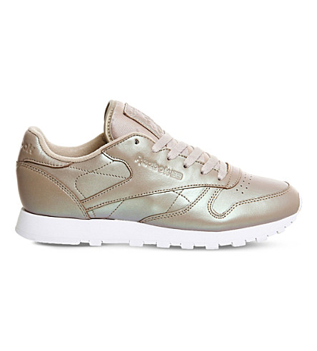REEBOK Classic Leather trainers (Champagne+pearlised