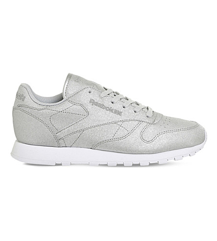 REEBOK Classic leather trainers (Diamond