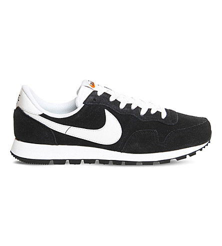 NIKE Pegasus 83 suede trainers (Black+summit+white