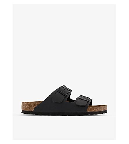BIRKENSTOCK亚利桑那皮革凉鞋 (黑色