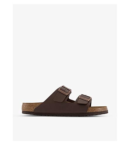 BIRKENSTOCK 亚利桑那州人造皮革凉鞋 (棕色