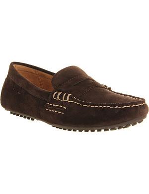 RALPH LAUREN Wes suede loafers