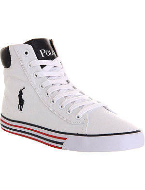 RALPH LAUREN Harvey mid-top trainers