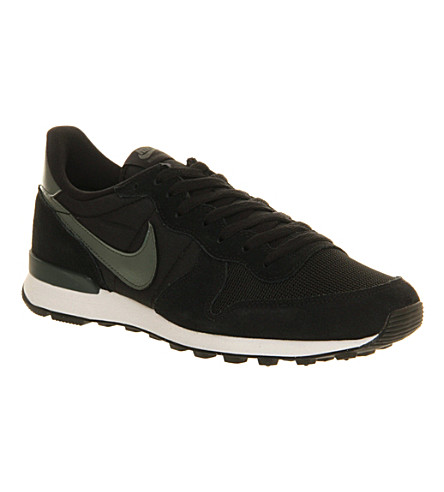 NIKE Internationalist trainers (Black/dark green