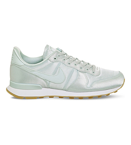 NIKE Internationalist satin trainers (Fibreglass+satin+qs