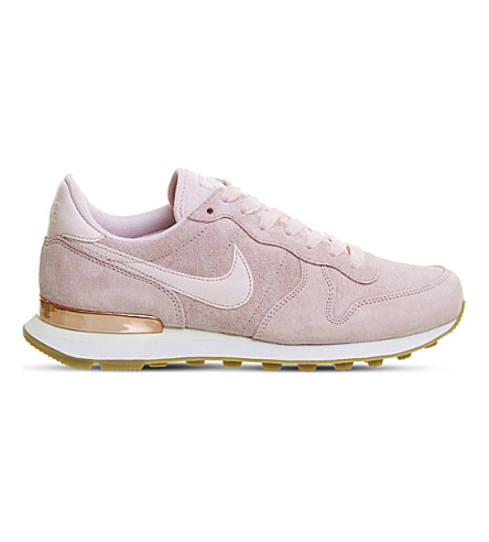NIKE Internationalist suede trainers (Prism+pink+white
