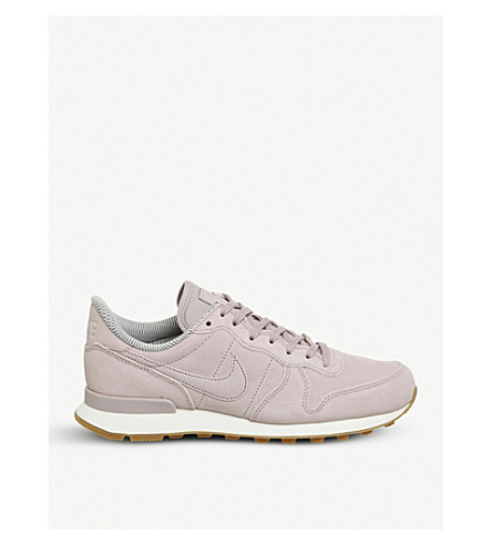 NIKE Internationalist suede trainers (Particle+rose