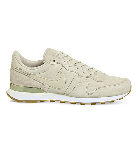 NIKE Internationalist suede trainers (Oatmeal+white+suede
