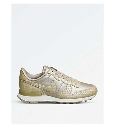 NIKE Internationalist leather trainers (Blur+light+orewood
