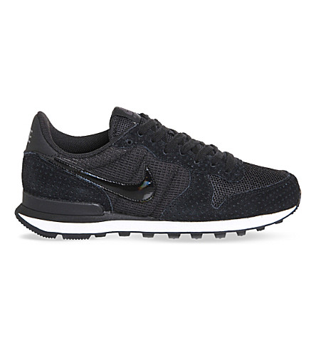 NIKE Internationalist suede trainers (Black+dark+grey