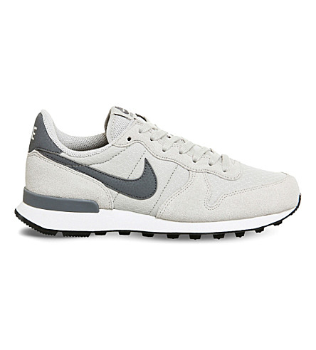 NIKE Internationalist leather and textile trainers
