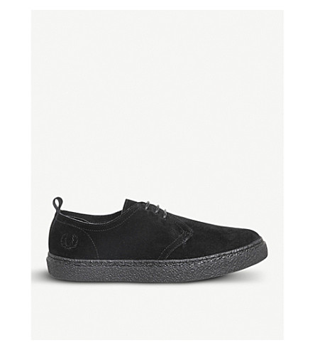 FRED PERRY Linden suede shoes (Black