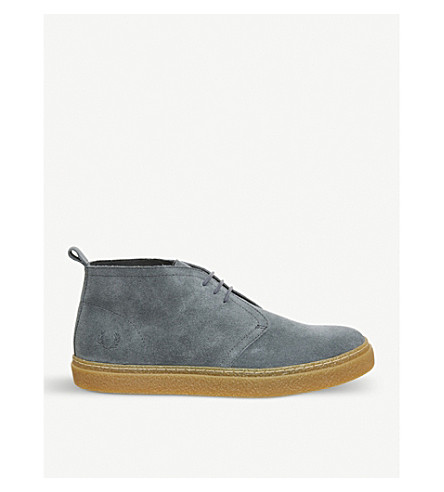 FRED PERRY Hawley suede trainers (Air+force