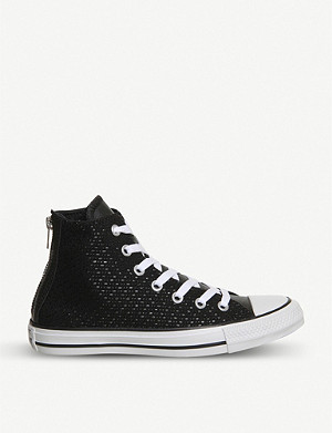 CONVERSE Chuck Taylor All Star trainers with back zip