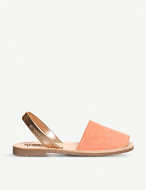 SOLILLAS Leather sandals