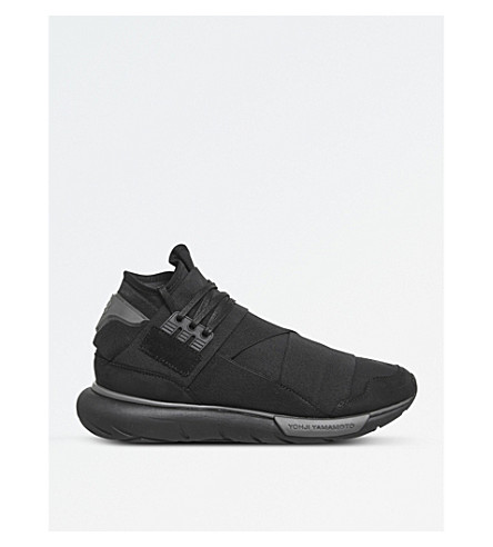 ADIDAS Y3 Qasa high-top trainers (Black+grey