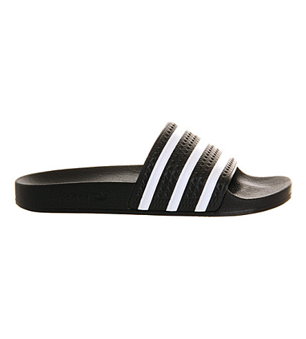 ADIDAS Adilette sliders (Black+white
