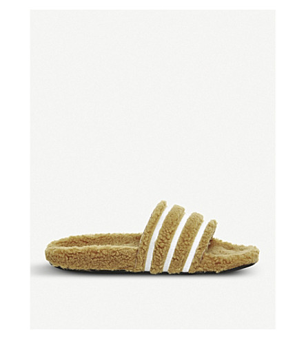 ADIDAS Adilette sliders (Mesa+chalk+white
