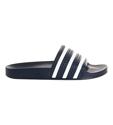 ADIDAS Adidas Adilette slideers (Navy+white