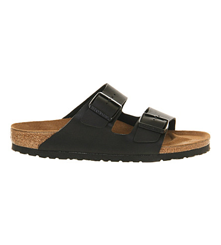 BIRKENSTOCK Arizona leather sandals (Black
