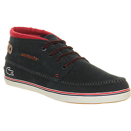 LACOSTE Meyssac chukka boot trainers (Navy