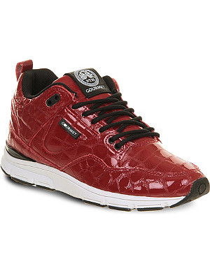 GOURMET 35 Lite patent leather trainers