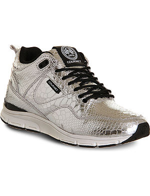 GOURMET 35 Lite SP snakeskin-print leather trainers
