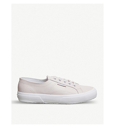 SUPERGA 2750 canvas trainers (Almost+mauve