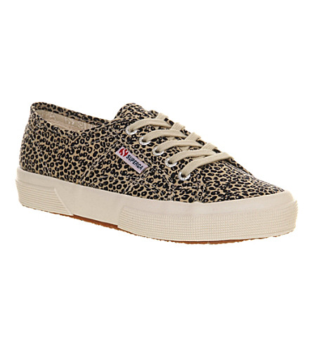 SUPERGA 2750 trainers (Leopard