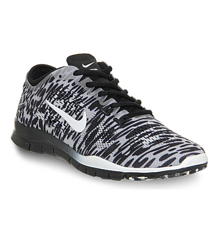 NIKE Free 5.0 tr fit 4 trainers (Black ivory