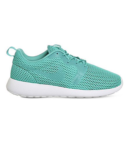NIKE Roshe One Hyperfuse mesh and textile sneakers (Clear jade breathe
