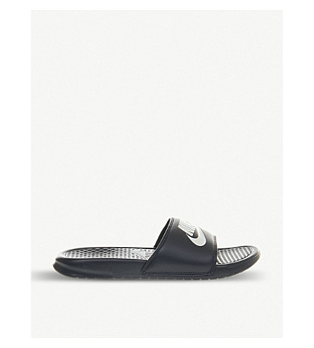 NIKE Benassi swoosh slide (Midnight+navy