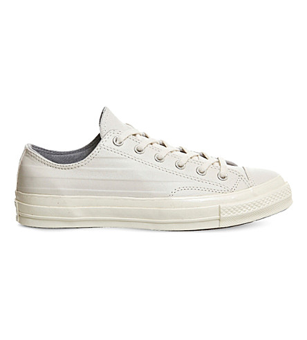 CONVERSE All star ox 70s leather low-tops (Egret+ash+grey